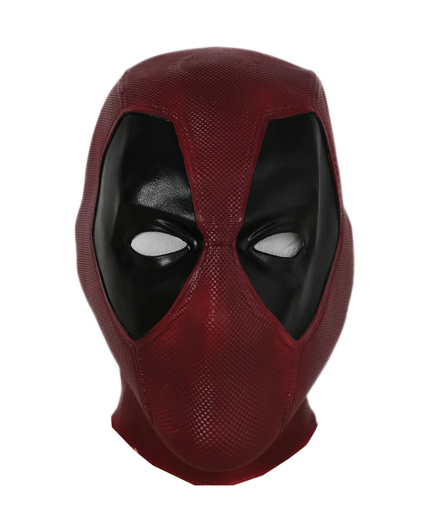 300 Full Movie >> Deadpool Mask Latex Full Head Mask Movie Halloween Cosplay Costume Props | eBay