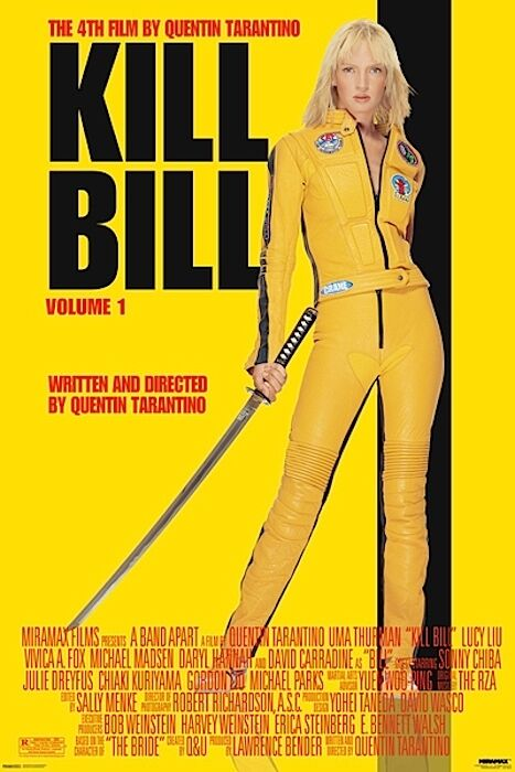 Image result for kill bill poster