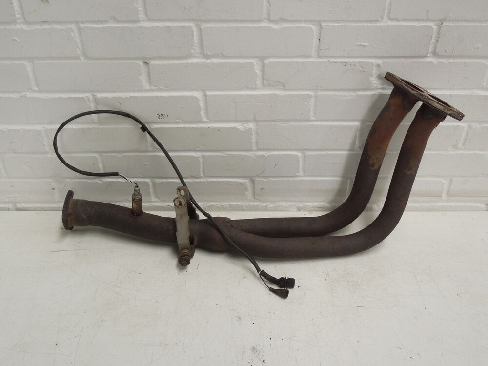 audi a6 100 c4 2.0 exhaust down pipe | ebay