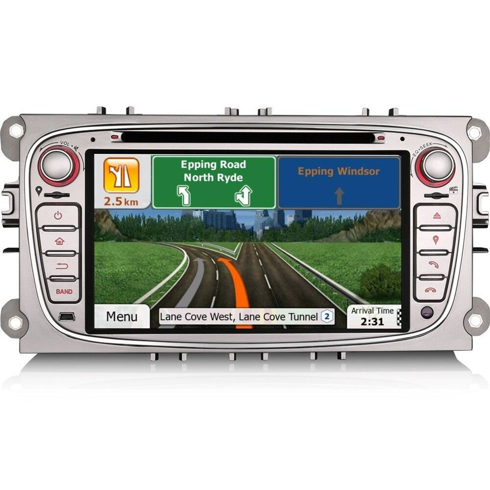 7 car gps sat nav head unit bluetooth dvd player usb. Black Bedroom Furniture Sets. Home Design Ideas