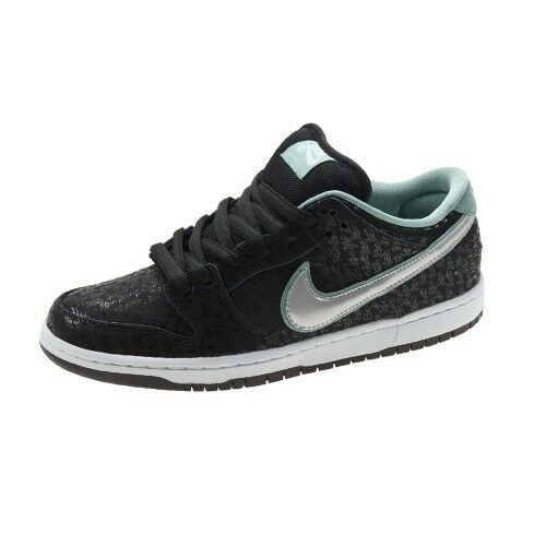 Details about Nike DUNK LOW PRO PREMIUM SB Black Metllic Platinum  573901-002 (239) Men s Shoes b532d27ee574