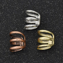 Dreadlock Beads Tube Ring for Braids Hair Beads Adjustable Hair Braid Cuff Clips