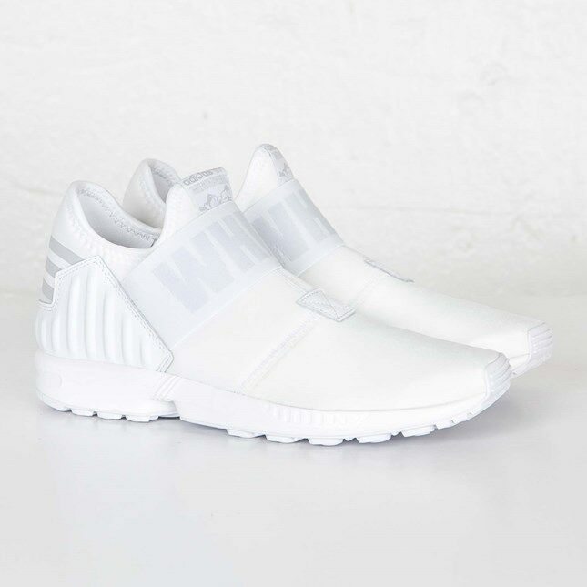 d6890ef4f5cb Details about Adidas ZX Flux Plus x White Mountaineering AQ3271 White Size  US 5.5 NEW
