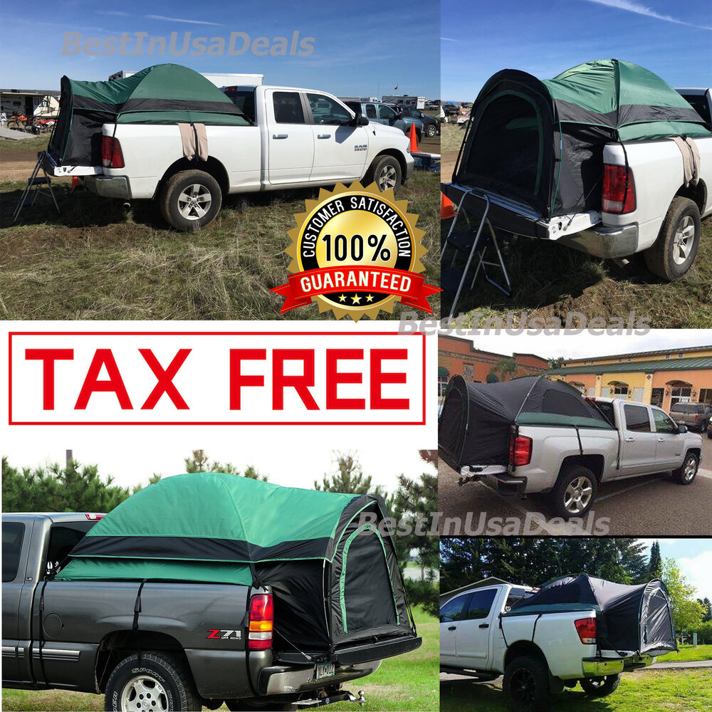 PICK-UP TRUCK BED TENT SUV CAMPING OUTDOOR CANOPY CAMPER
