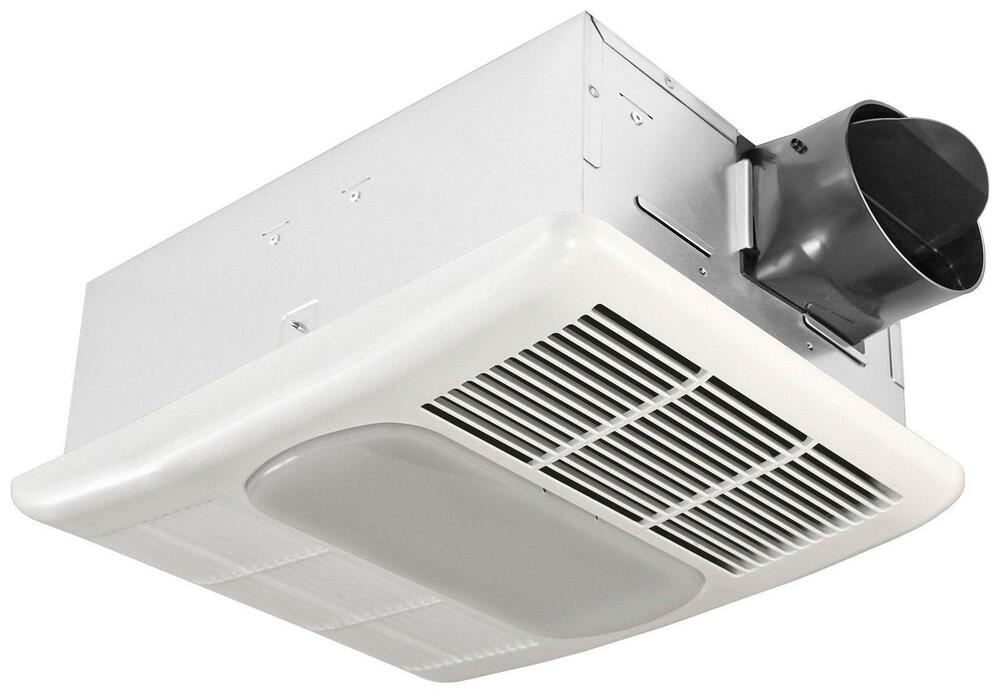 Bathroom 70 Cfm Exhaust Fan With Heat Lamp And Light: CEILING EXHAUST FAN Bathroom Ventilation Heater Light 70
