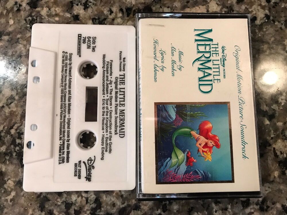 The Little Mermaid Original Motion Picture Soundtrack Cette 691164425855 Ebay