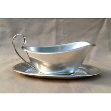 Reed & Barton X234 Sterling Sauce Gravy Boat w/ Underplate, 274.8 grams ca. 1955