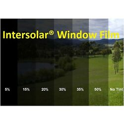 Uncut Roll Window Tint Film 2 ply Car Home Residential  Commercial  Intersolar