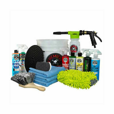Chemical Guys 15-piece Car Wash Bucket with TORQ Foam Blaster
