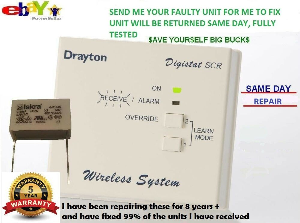 s l1000 drayton digistat scr rf2 wireless receiver repair service drayton digistat 1 wiring diagram at creativeand.co
