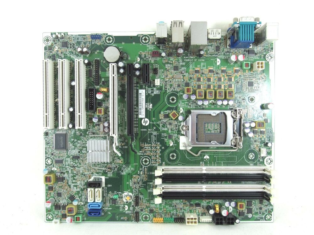 Hp Compaq 8200 Elite Cmt Mini Tower Motherboard System