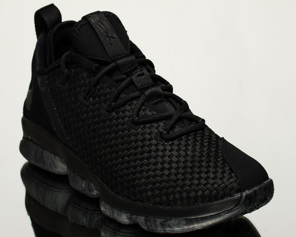 62685bf35c2224 Details about Nike Lebron XIV Low Triple Black men basketball shoes black  878636-002