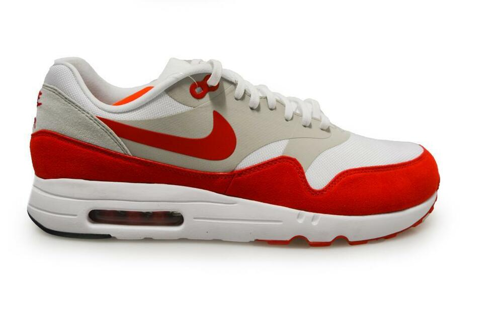 timeless design 11ff3 d980c Mens Nike Air Max 1 Ultra 2.0 LE Air Max Day - 908091100 - White Red  Trainers  eBay