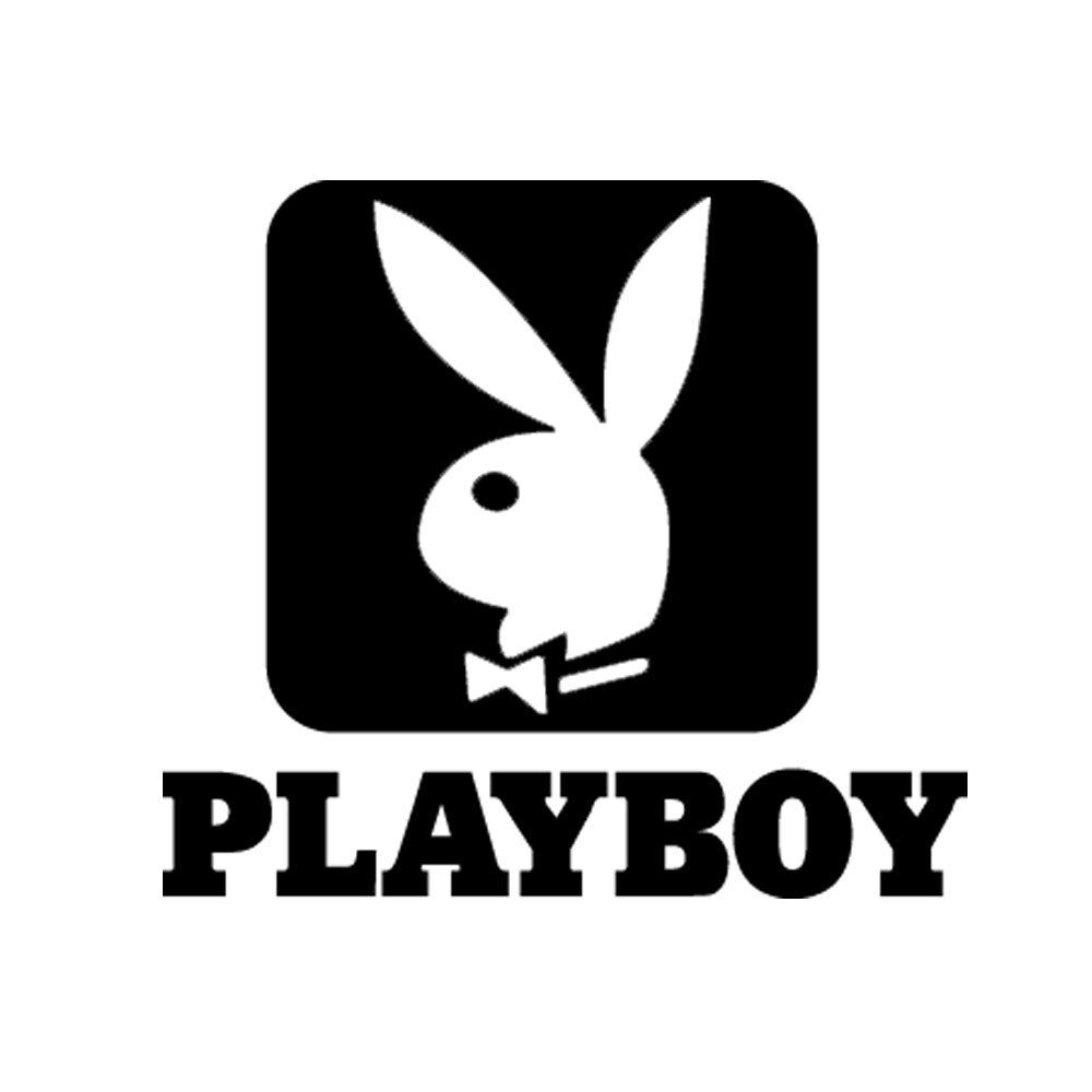 Details about 5 playboy logo vinyl decal sticker car window laptop bunny magazine