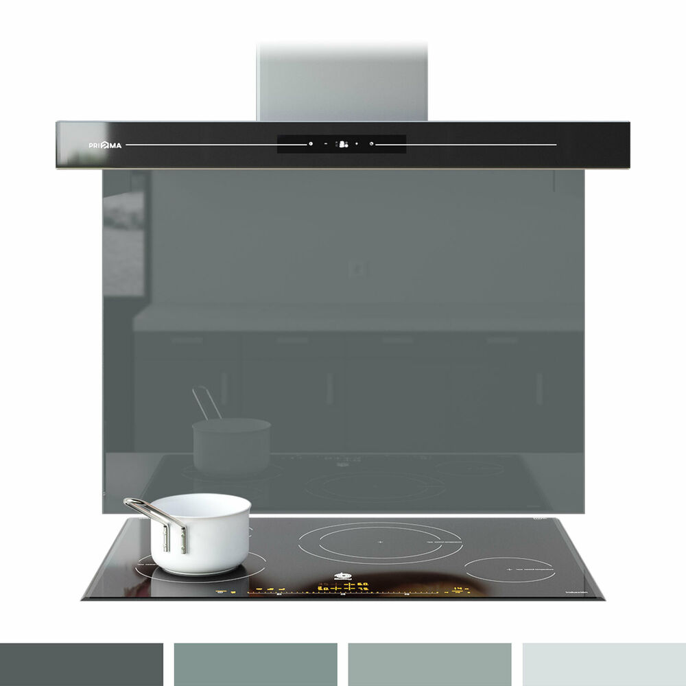 Credence Cuisine: Splashback Glass Kitchen & Bathroom Cooker Hob Panel