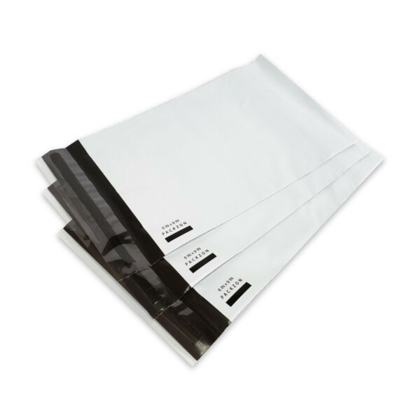 1000 6x9 Poly Mailers Shipping Envelopes Self Sealing Plastic Bags 2 Mil