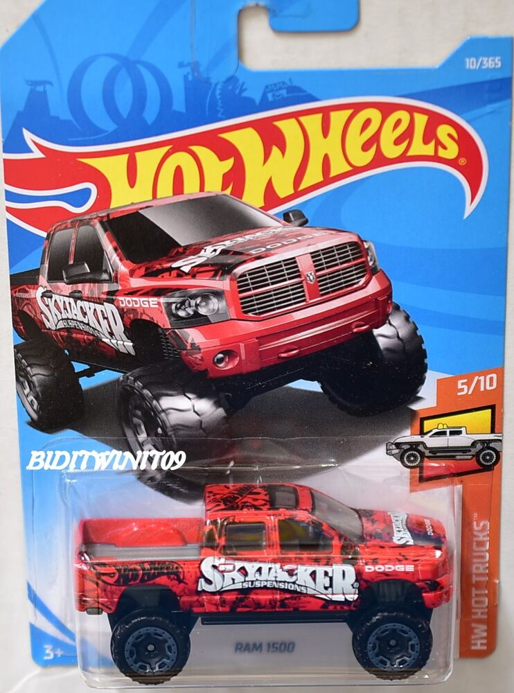 hot wheels 2018 hw hot trucks ram 1500 skyjacker 5 10 ebay. Black Bedroom Furniture Sets. Home Design Ideas