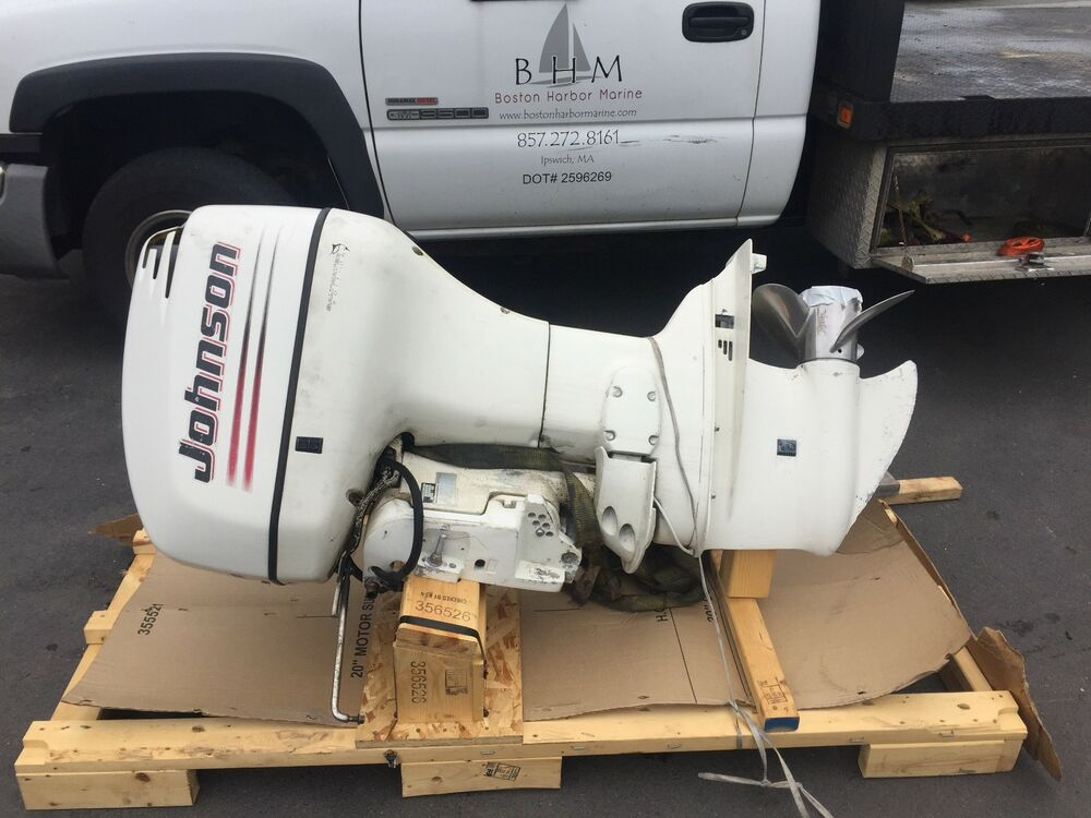 2004 Johnson Evinrude Omc 115 Hp Carbureted 25 Outboard