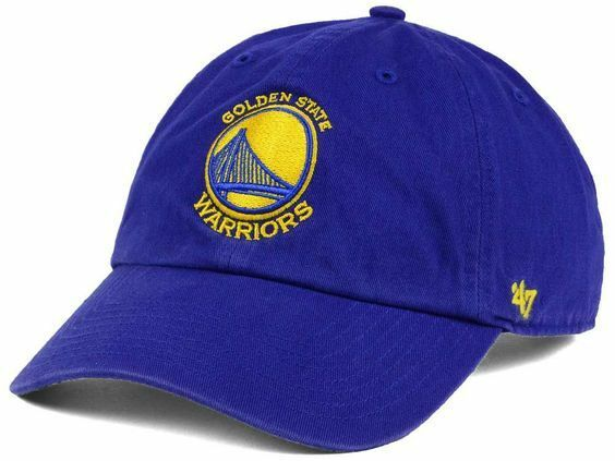628a2336aaf7c Details about NEW  47 GOLDEN STATE WARRIORS BLUE  47 CLEAN UP STRAP BACK  BASEBALL CAP HAT