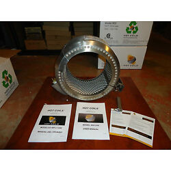 PRE WELD HEATING 8'' PIPE COIL HEATER 120VAC, 600,F MAX. HOT COILS MODEL#800, NEW