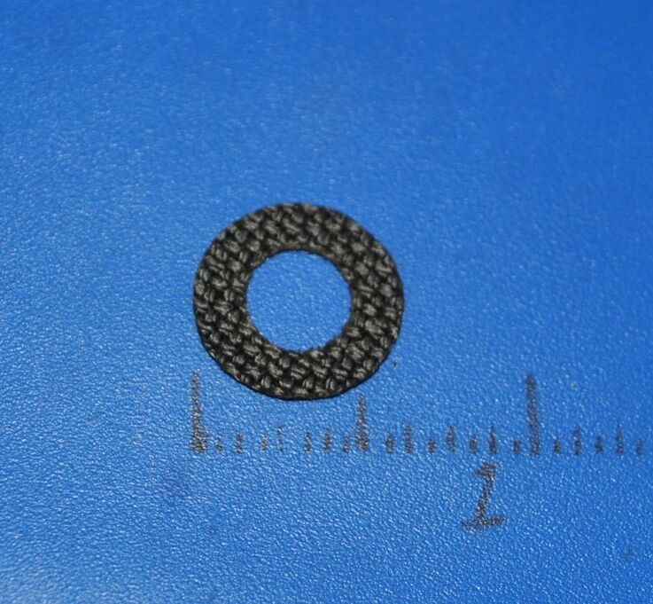 Carbon Drag Washers to replace original Abu Garcia Ambassadeur part number 10271