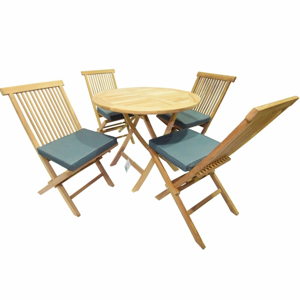 Bench Chairs Kitchen Tables And Chairs Ebay Free Kitchen: SOLID TEAK WOOD GARDEN / KITCHEN 3FT 90cm FOLDING DINING