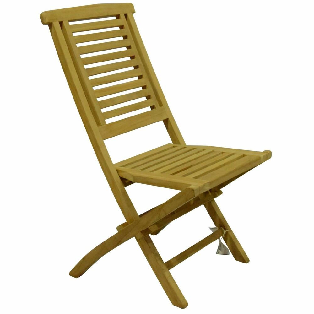 Details about ex display pack 2 kyoto hanton fold up teak wood indoor outdoor folding chairs