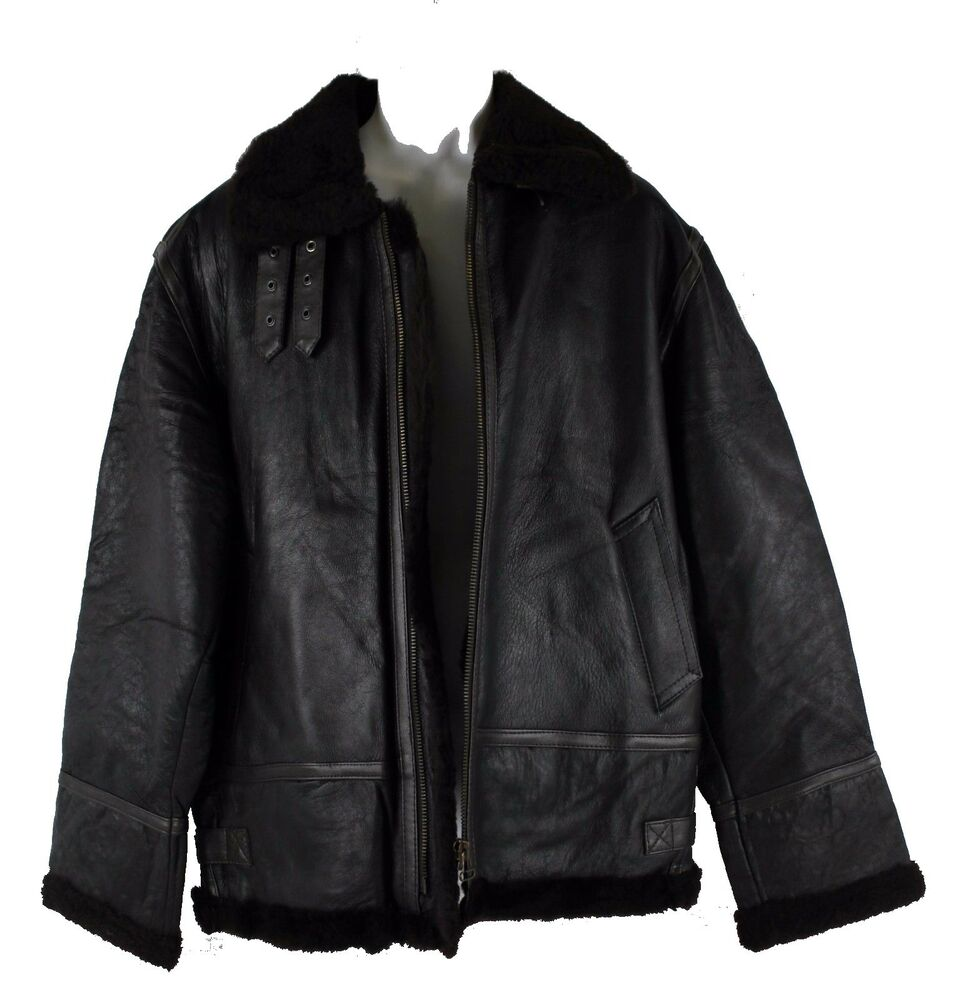 bombardo hot pilot lederjacke herren winterjacke gef ttert. Black Bedroom Furniture Sets. Home Design Ideas