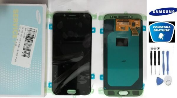 DISPLAY LCD + TOUCH SCHERMO ORIGINALE SAMSUNG GALAXY J5 2017 SM-J530F NERO KIT