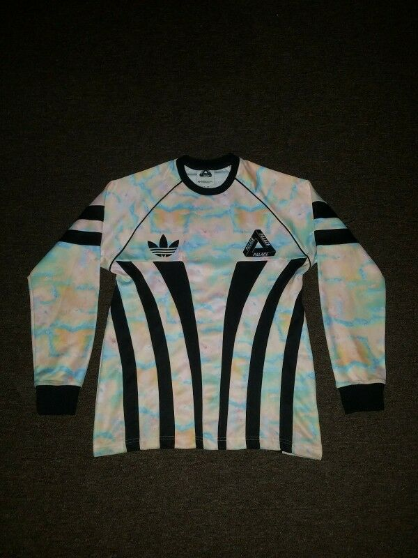 6dee301a27 Palace x Adidas Longsleeve Jersey Mutlicolored Graphic Goalie FW15 ...