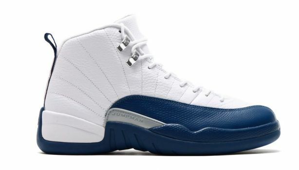 purchase cheap ac26b 19235 Details about Nike Air Jordan 12 XII Retro French Blue White Men   GS  130690-113 Authentic
