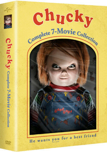 Chucky: Complete 7-Movie Collection (2017, DVD NEUF) (RÉGION 1)