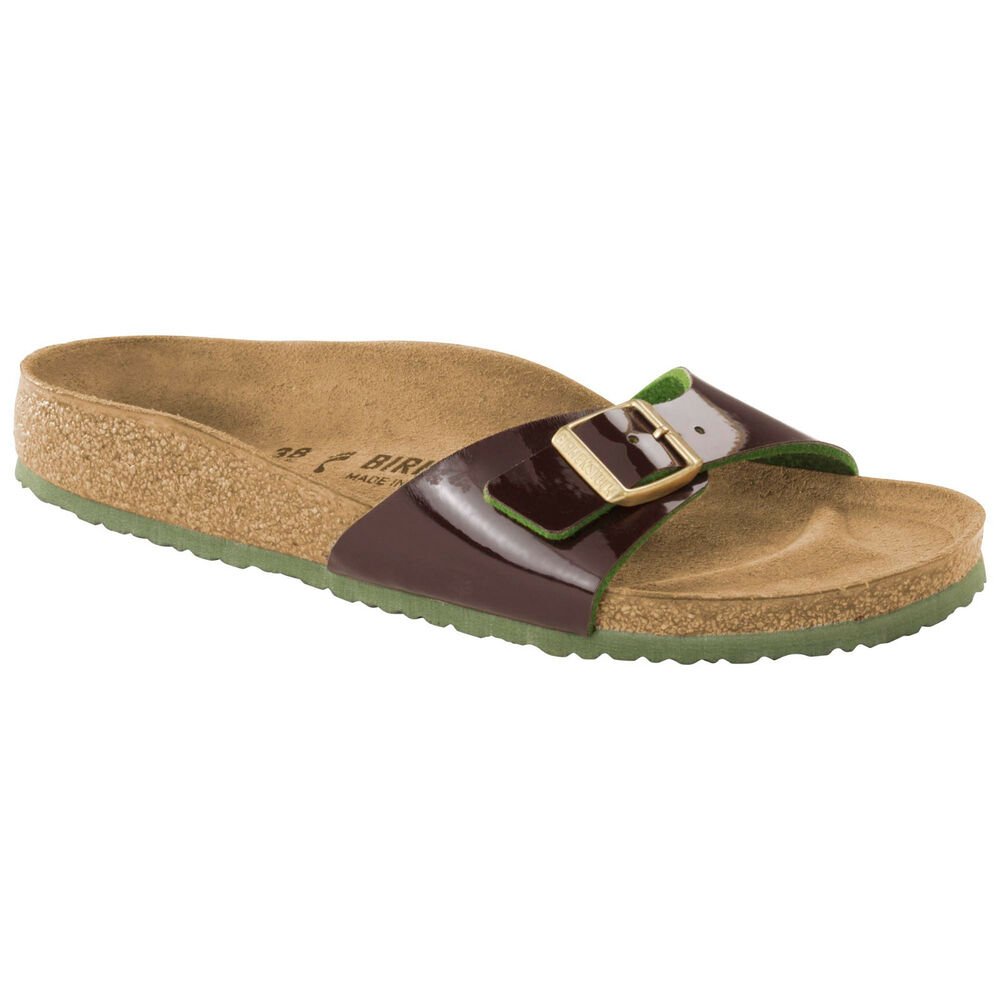 e6442bb5cdec Details about CLEARANCE Birkenstock BF MADRID Two Tone Espresso (Brown Green)  BNIB 1007975