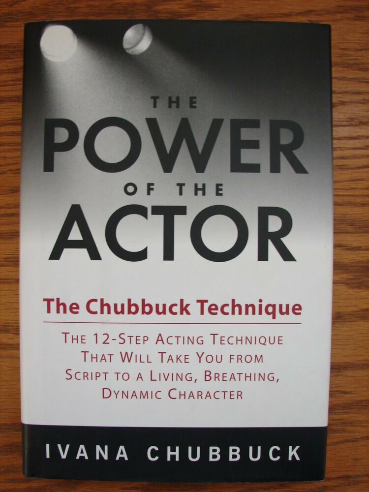 Autographed Copy The Power Of The Actor The Chubbuck Technique By