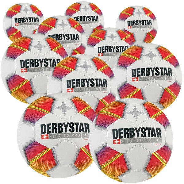 derbystar stratos pro s light 10er ballpaket fu ball gr e 3 ebay. Black Bedroom Furniture Sets. Home Design Ideas