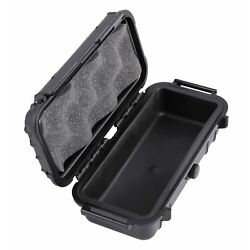 Smell Proof Case 7.5'' Odor Resistant Hookah Tobacco Pipe Travel Storage Conta...