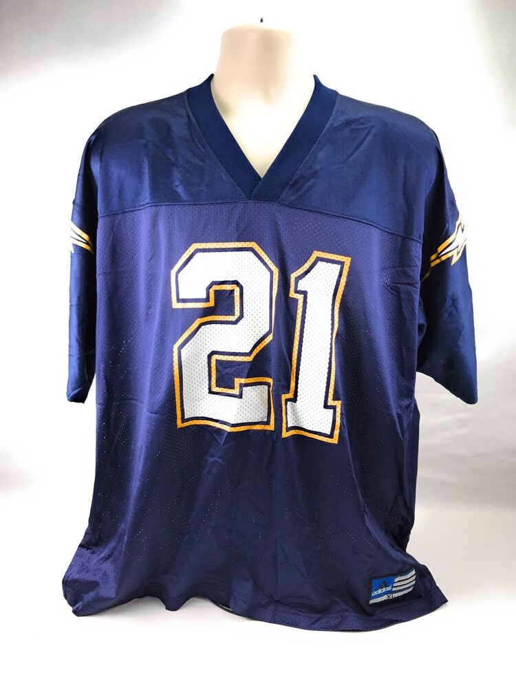 43a89085e77 Adidas San Diego Chargers Ladainian Tomlinson # 21 NFL Blue Jersey Men's XL  | eBay