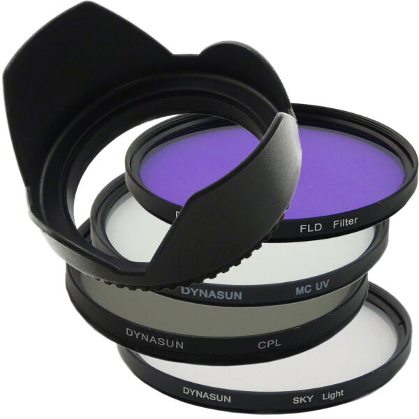 Kit Filtre Circulaire CPL 55mm Multicoated Ultra Violet 55 SKY FLD Fluorescent