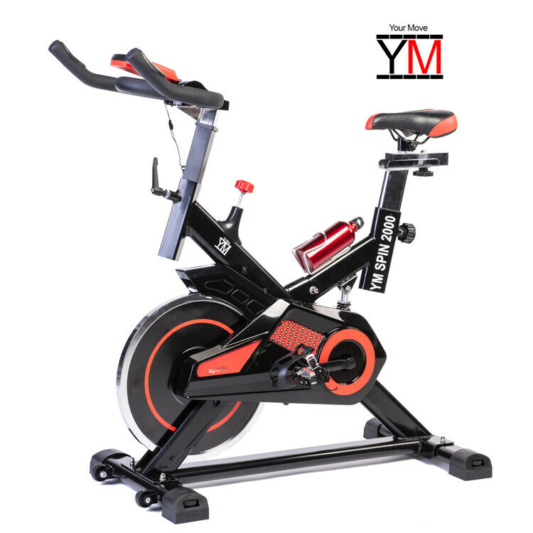 bici da spinning bike your move cardio spinbike bicicletta cyclette fitness top ebay. Black Bedroom Furniture Sets. Home Design Ideas