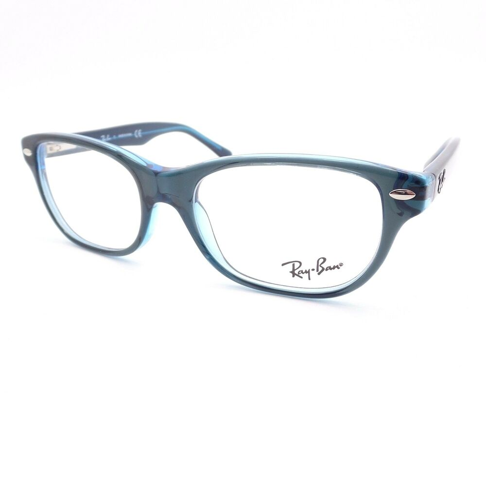 b7ef0b2c66 Details about Ray Ban Kids 1555 3667 Blue Eyeglass Frame New Authentic