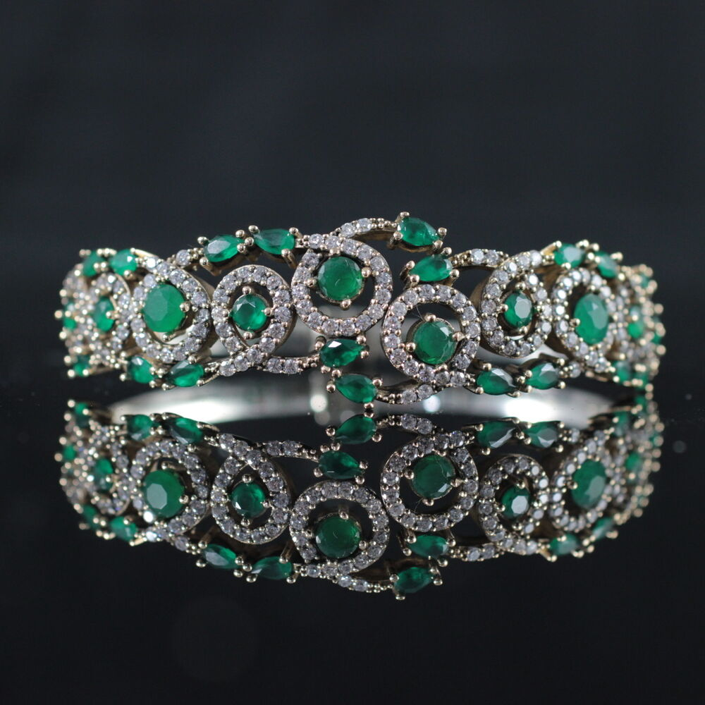 Turkish Handmade Jewelry Sterling Silver 925 Emerald