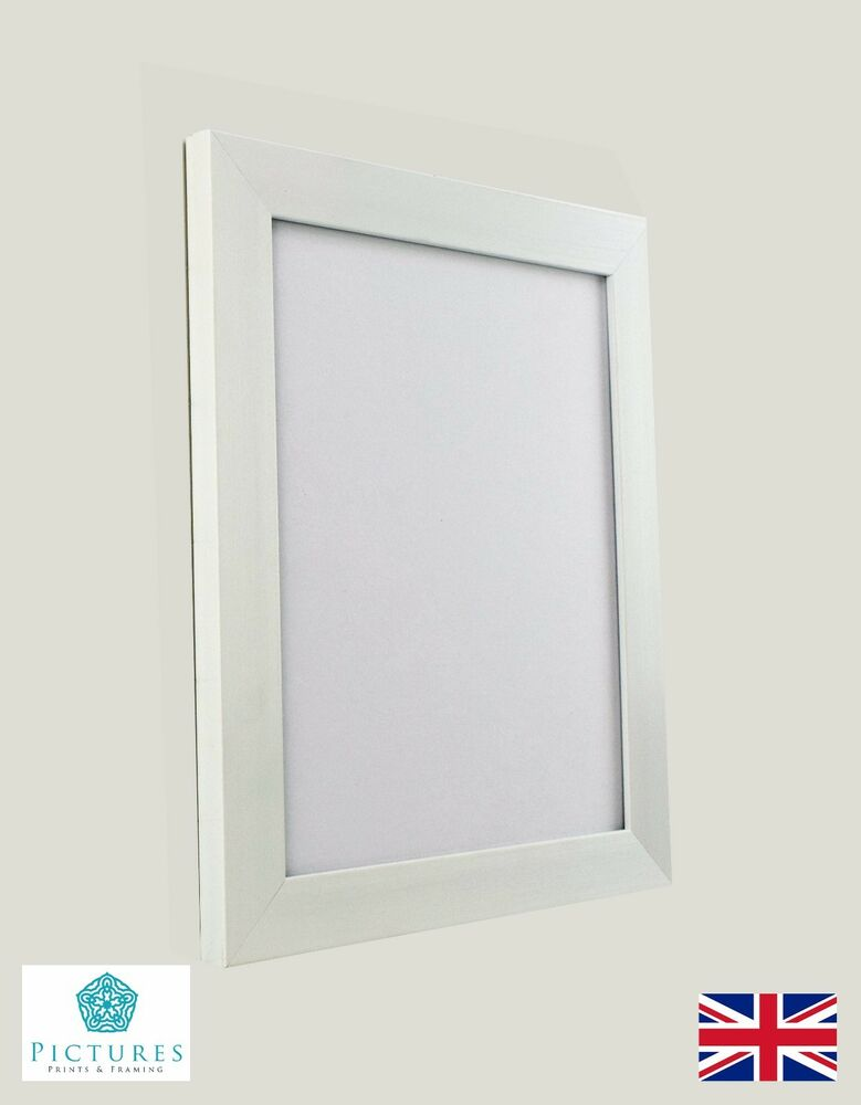 White Photo Picture Poster Panoramic Frames 3x3\