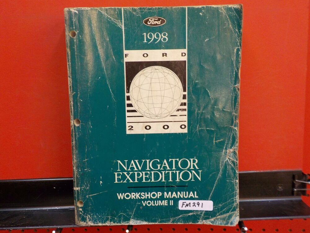 1998 Lincoln Navigator Ford Expedition Service Manual Book