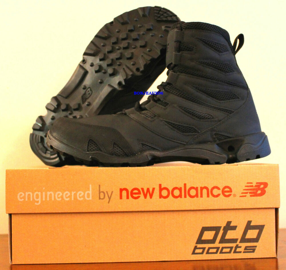Otb Abyss Ii Black By New Balance Tactical Mens 8 Inch U S