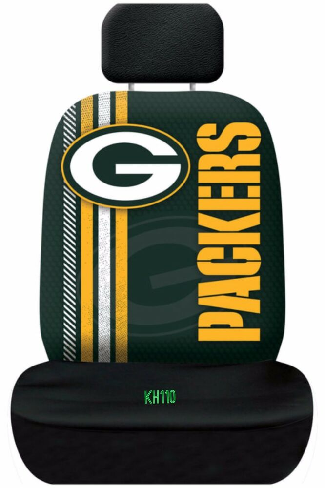 Nfl Green Bay Packers Printed Logo Car Seat Cover