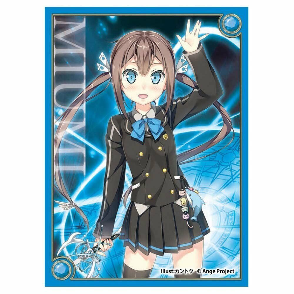 933935f48f8 Details about Ange Vierge Hinata Miumi Card Game Character Sleeves  Collection SC-01 Anime Art