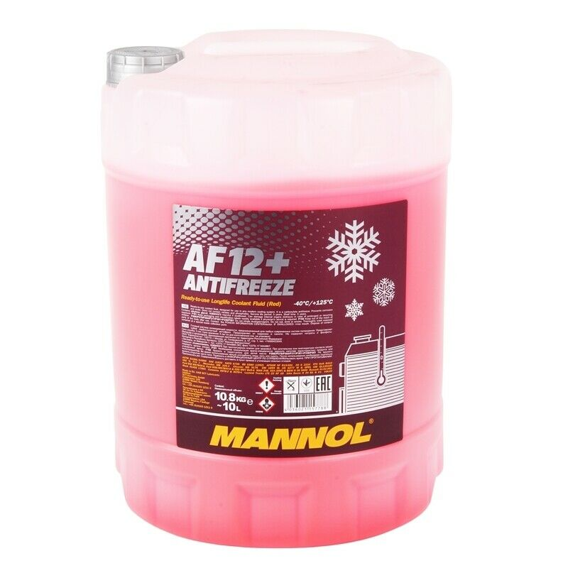 k hlerfrostschutz rot g12 10 l mannol antifreeze af12. Black Bedroom Furniture Sets. Home Design Ideas