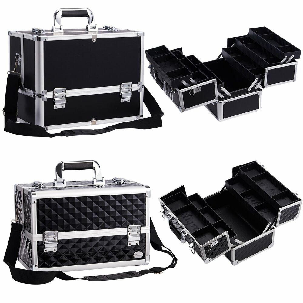 Extra Large Vanity Case Beauty Box Make Up Jewelry