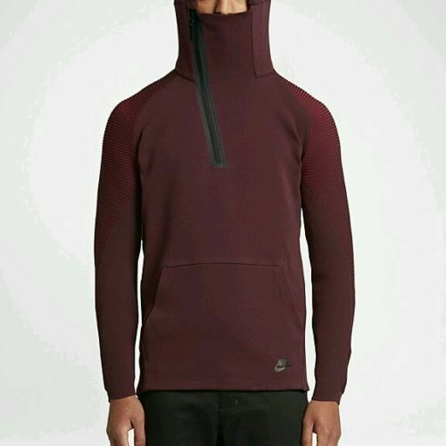 Details about 805655-681 New with tag Nike Men s Tech Fleece half zip hoodie   225 60e474be15b7