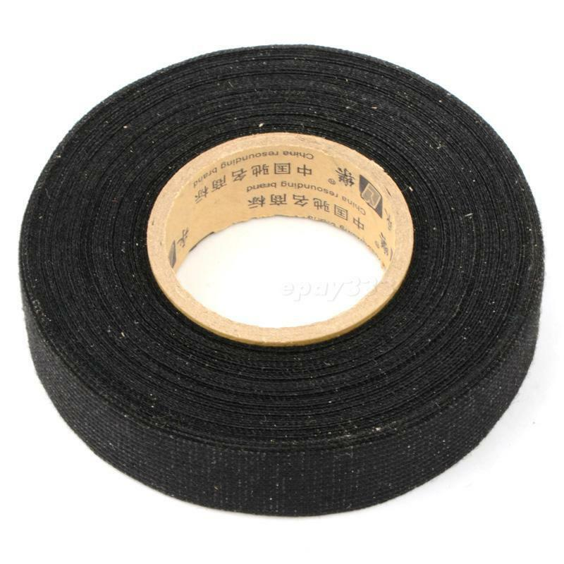 Cool 19Mmx15M Tesa Coroplast Adhesive Cloth Tape For Cable Harness Wiring Wiring 101 Cranwise Assnl